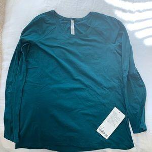 Emerald long sleeve top